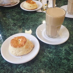 Photo taken at Los Bisquets Bisquets Obregón by iliana c. on 8/16/2014