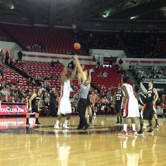 Photo taken at Stegeman Coliseum by Alan A. on 12/18/2012