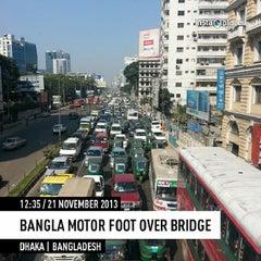 Photo taken at Bangla Motor by Nafis S. on 11/21/2013