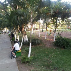 Photo taken at Parque de la Familia by Mario G. on 12/25/2012