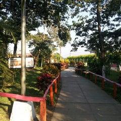 Photo taken at Parque de la Familia by Mario G. on 3/9/2013