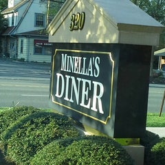 Photo taken at Minella's Main Line Diner by Nancy D. on 4/27/2013