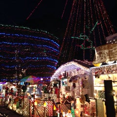 Photo taken at Christmas Light Display (christmasdisplay.org) by Bill M. on 12/18/2014