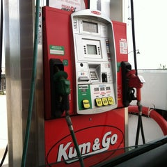 Photo taken at Kum & Go by Amanda C. on 5/19/2013