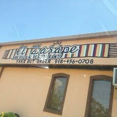 Photo taken at El Zarape Mexican Restaurant by Waleed ♒. on 8/30/2013