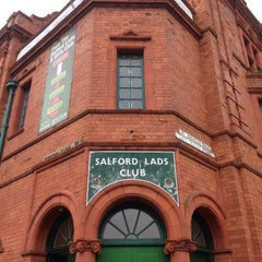 Photo taken at Salford Lads Club by lillllli c. on 10/3/2015