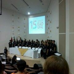 Photo taken at Auditorio da Reitoria by Ana Júlia S. on 5/10/2013