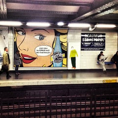 Photo taken at Métro Réaumur—Sébastopol [3,4] by Dimitry H. on 10/10/2012