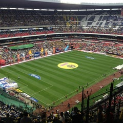 Photo taken at Estadio Azteca by Luis L. on 5/26/2013