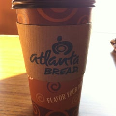 Photo taken at Atlanta Bread Company by Jennifer O. on 2/6/2013