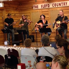 Photo taken at Floyd Country Store by Gigi A. on 8/23/2014