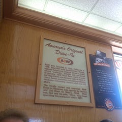 Photo taken at A&W Restaurant by Wendy W. on 7/25/2013