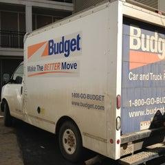 Photo taken at Budget Truck Rental by Kristen K. on 3/10/2013