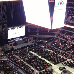 Photo taken at Arena Ciudad de México by Jessica D. on 6/22/2013
