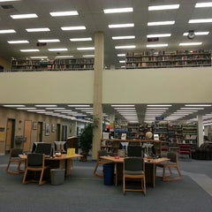 Photo taken at Leslie J. Savage Library by Tiffanie W. on 8/8/2013
