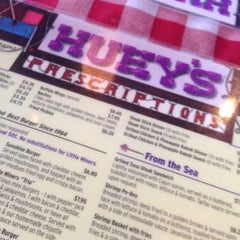 Photo taken at Huey's Restaurant by Lou G. on 12/6/2012