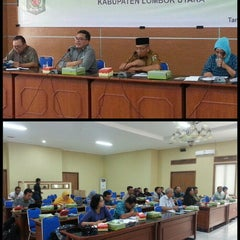 Photo taken at Kantor Bupati Lombok Utara by Sur A. on 5/20/2015