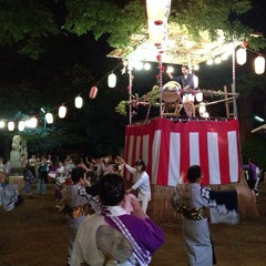 Photo taken at 駒繋神社 by Zach T. on 7/20/2013