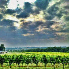 Photo taken at Boordy Vineyards by Olivia O. on 7/14/2012