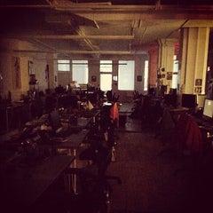 Photo taken at Thrillist HQ by Michael V. on 10/22/2012