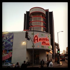 Photo taken at Amoeba Music by Jonathan F. on 4/18/2013