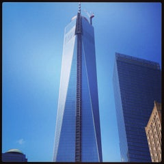 Photo taken at One World Trade Center by AKAM L. on 7/6/2013