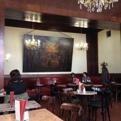 Photo taken at Café Ritter by Elena on 4/2/2014