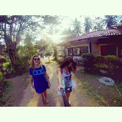 Photo taken at Malibu Beach Bungalows Koh Phangan by Petrova C. on 1/23/2015