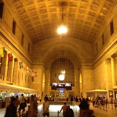 Photo taken at Union Station by Greg M. on 7/30/2012