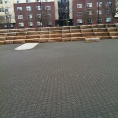 Photo taken at Jamison Square Park by Jeri B. on 2/21/2012
