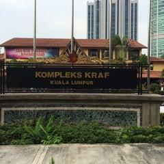 Photo taken at Kompleks Kraf Kuala Lumpur by Muhammad F. on 8/27/2015