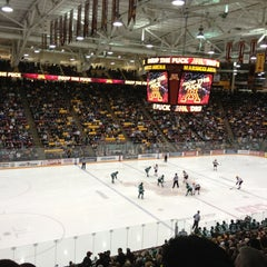 Photo taken at Mariucci Arena by Tony D. on 1/19/2013