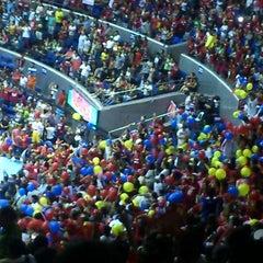 Photo taken at SMART Araneta Coliseum by PauliTo A. on 5/19/2013