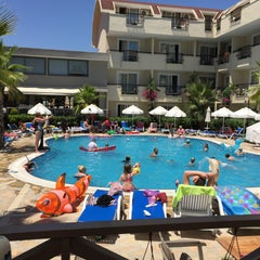 Photo taken at Sun City Apartments & Hotel by Çetin B. on 7/18/2015