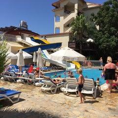 Photo taken at Sun City Apartments & Hotel by Çetin B. on 7/20/2015