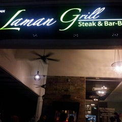 Photo taken at Laman Grill Steak & Bar-B-Que by Epyn P. on 10/23/2012