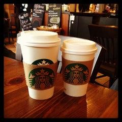 Photo taken at Starbucks by Pamela Y. on 2/24/2013