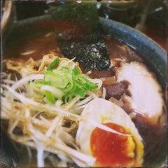 Photo taken at 麺処 田ぶし by Akira Matsuoka Y. on 3/7/2015