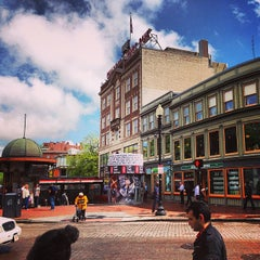 Photo taken at Harvard Square by Schildgasse on 5/9/2013