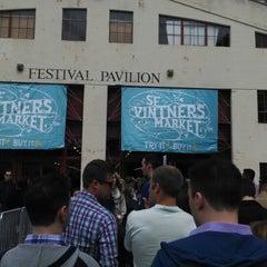 Photo taken at San Francisco Vintners Market by Britta B. on 4/12/2014