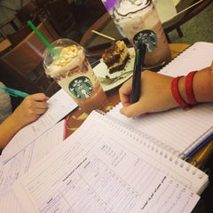 Photo taken at Starbucks   ستاربكس by Fatima A. on 5/26/2013
