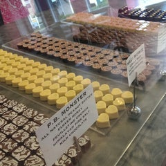 Photo taken at Lilly Handmade Chocolates by Maggie M. on 10/5/2013