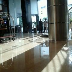 Photo taken at Orchardz Hotel by Nur M. on 4/28/2013