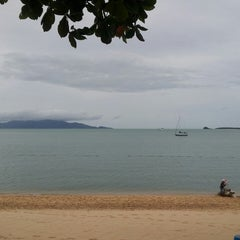 Photo taken at Peace Resort Samui by Laura M. on 6/15/2013