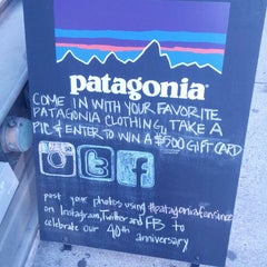 Photo taken at Patagonia Upper West Side by Luis P. on 10/26/2013