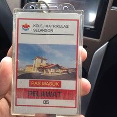 Photo taken at KOLEJ MATRIKULASI SELANGOR (KMS) by Zafruddin A. on 8/11/2015