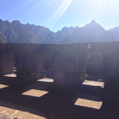 Photo taken at Templo de las Tres Ventanas by Lupe D. on 7/27/2013