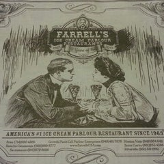 Photo taken at Farrell's Ice Cream Parlour by Silvia N. on 1/18/2014
