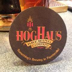 Photo taken at Hog Haus Brewing Company by Kevin C. on 11/1/2012