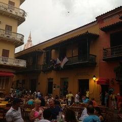 Photo taken at Plaza Santo Domingo by Pilar M. on 5/19/2013